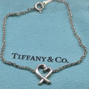 Tiffany & Co Paloma Picasso Loving Heart Bracelet
